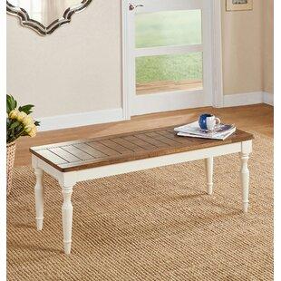 Ophelia & Co. Kirt Wood Bench