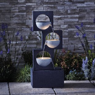 Edvin Resin Fountain By Sol 72 Outdoor