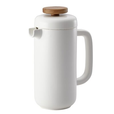 BonJour 8-Cup French Press Coffee Maker BonJour Color: Matte White