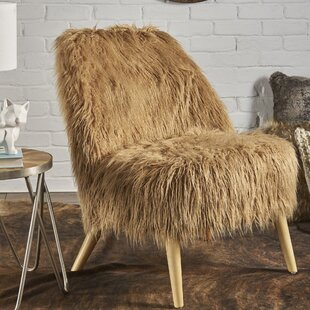 Buterbaugh Fur Accent Side Chair