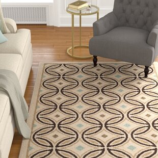 Rennie Cream/Chocolate Indoor/Outdoor Area Rug