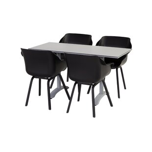 Best Price Sophie Folding Aluminium Dining Table