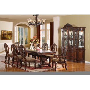 West End 7 Piece Extendable Solid Wood Dining Set