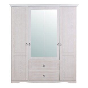 Sisk 4 Door Wardrobe By August Grove