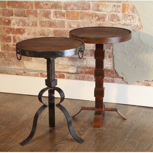 Breanna Round Iron End Table