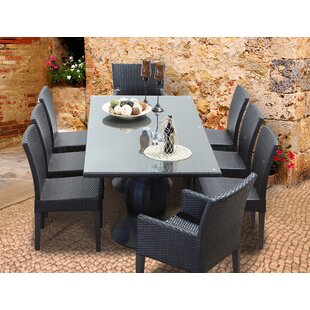 Melendez 9 Piece Dining Set
