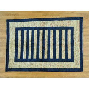 Find a One-of-a-Kind Becker Hand-Knotted Wool Area Rug By Isabelline