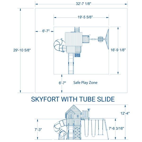 Skyfort Swing Set