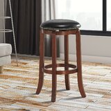 Abidan Swivel 24'' Counter Stool by Red Barrel Studio®