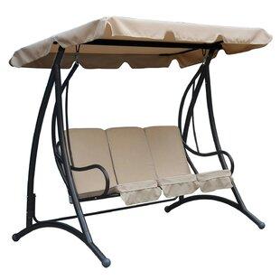 Dexter 3 Seater Premium Swing Seat By Freeport Park