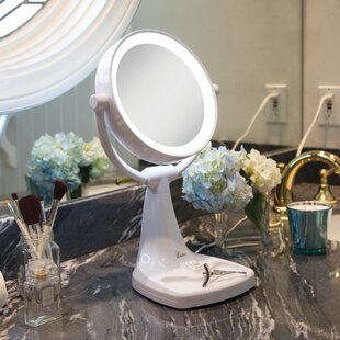 Best Reviews Max Bright Sunlight Vanity Mirror By Zadro