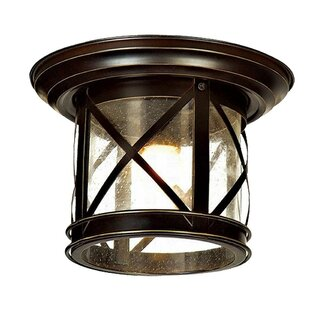 Alderley Outdoor Flush Mount by Charlton Home