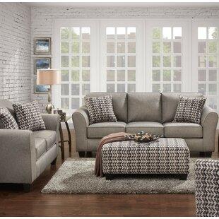 Fairmount 3 Piece Living Room Set by Ebern Designs