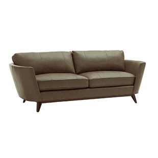 Shop Zavala Leather Sofa by Lexington