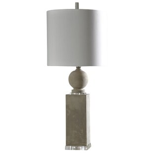 Sawyer Cast Concrete 38 Table Lamp