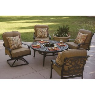 Calhoun 5 Piece Conversation Set with Cushions