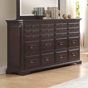 Plumcreek 6 Drawer Double Dresser