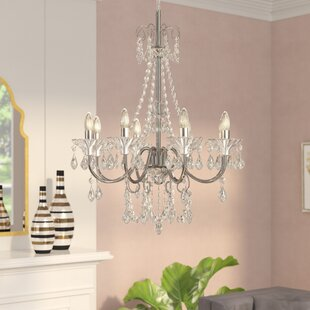 Affordable Price Jeter 8-Light Candle Style Chandelier By House of Hampton