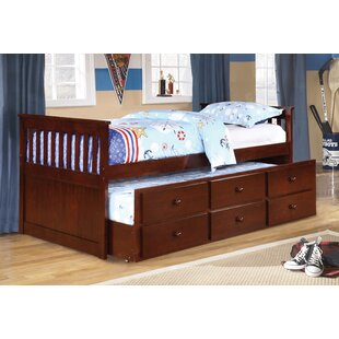 Chugg Twin Over Twin Bed with Trundle