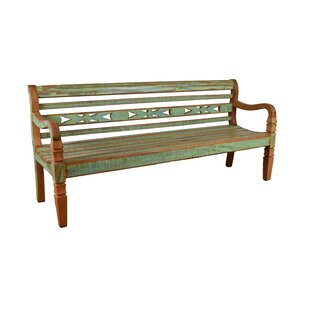 Halsted Wood Bench by Bloomsbury Market