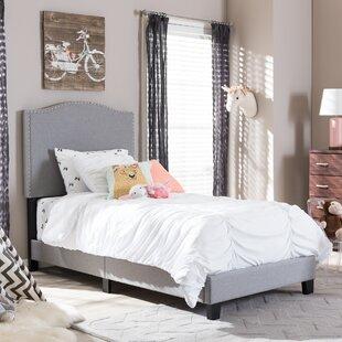 Harriet Bee Perkinson Twin Upholstered Platform Bed