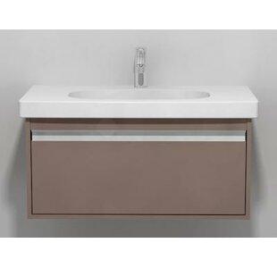 Top Reviews Ketho 32 Single Wall Mount Bathroom Vanity Set ByDuravit