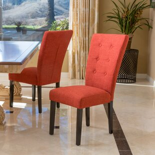 George Upholstered Dining Chair (Set of 2) Latitude Run