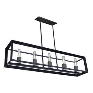 Brayden Studio Haught 5-Light Kitchen Isl..