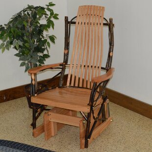 Nevaeh Hickory Glider Chair