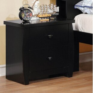 Elim 2 Drawer Nightstand by Harriet Bee