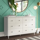 Lafever 6 Drawer Double Dresser by Mercury Row®