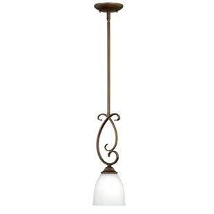 Bruder 1-Light Cone Pendant by Fleur De Lis Living