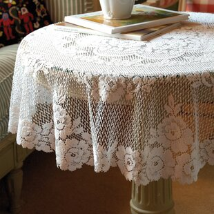 Exceptionnel Round Lace Table Toppers | Wayfair
