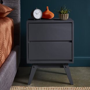 Mitton 2 Drawer Nightstand by Ivy Bronx