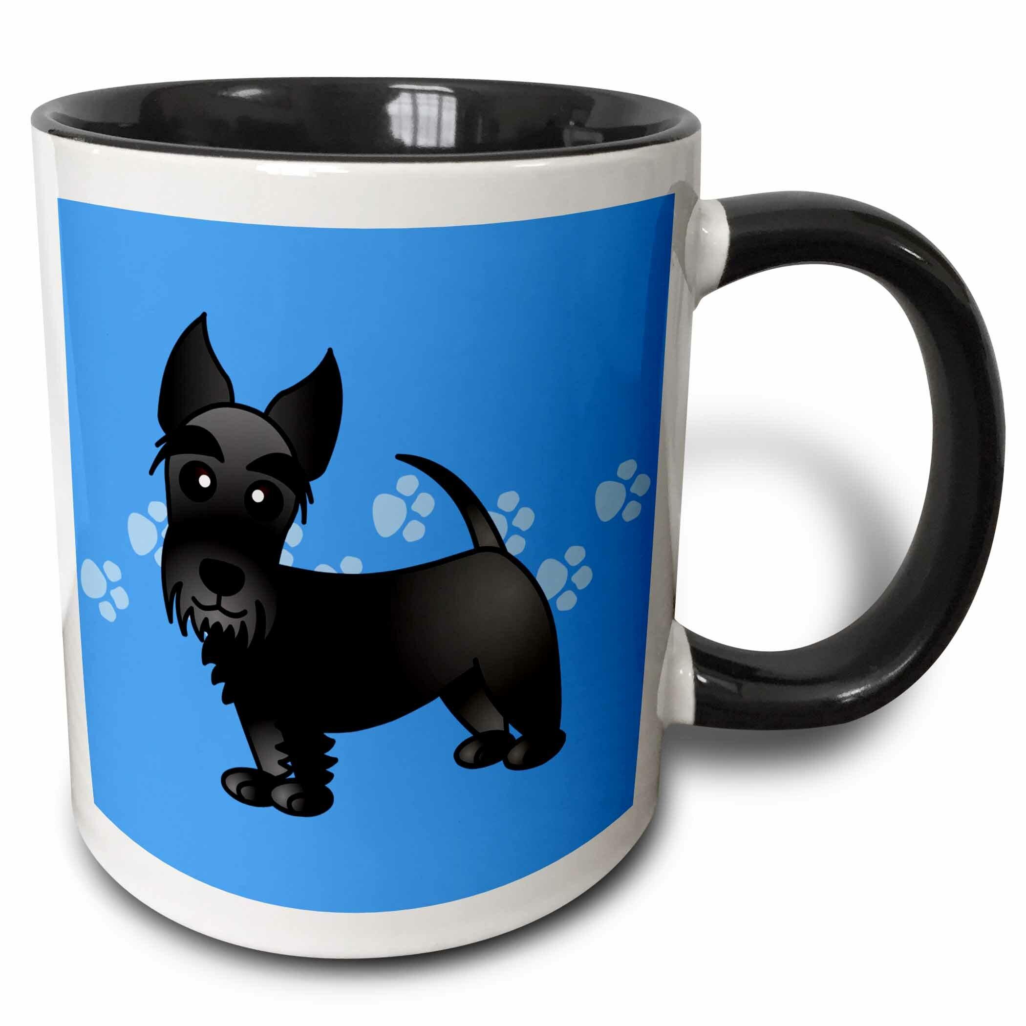 Zoomie Kids Mcculley Cute Scottie Coffee Mug Wayfair