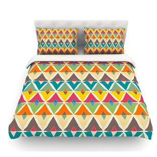 My Diamond by Julia Grifol Featherweight Duvet Cover