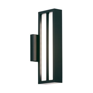 Orren Ellis Stoneburner 1-Light Outdoor Sconce