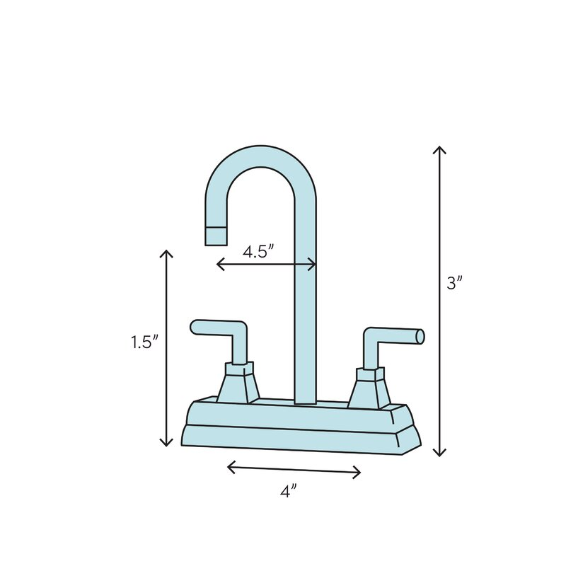 Elements Of Design Vintage Centerset Bathroom Faucet With Drain Assembly Wayfair