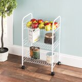 Neymar Multi-Purpose Rolling Kitchen Cart by Rebrilliant