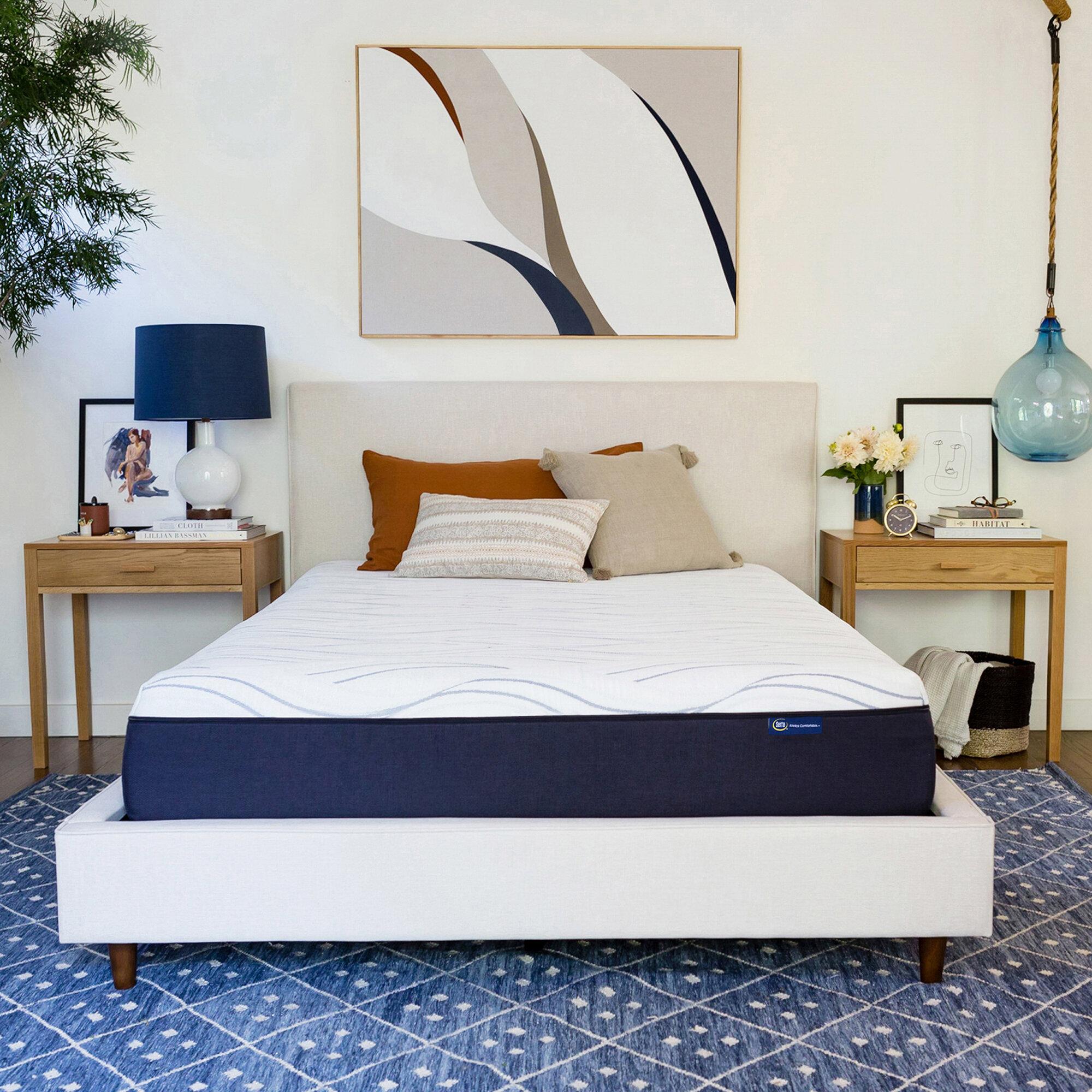 Serta Perfect Sleeper 12 Medium Gel Memory Foam Mattress Reviews Wayfair