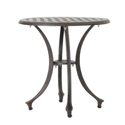 Kastner Metal Side Table by Charlton Home