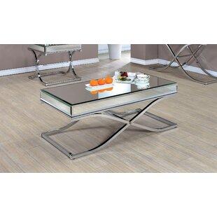 Lenox Mirrored Coffee Table Wayfair - Wayfair mirrored coffee table