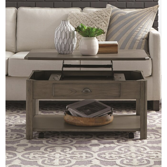 Fernville Lift Top Coffee Table With Storage