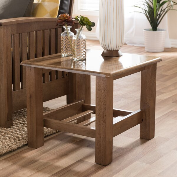 wholesale interiors baxton studio end table  reviews