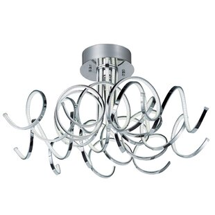 Orren Ellis Bruder 9-Light Semi flush mount