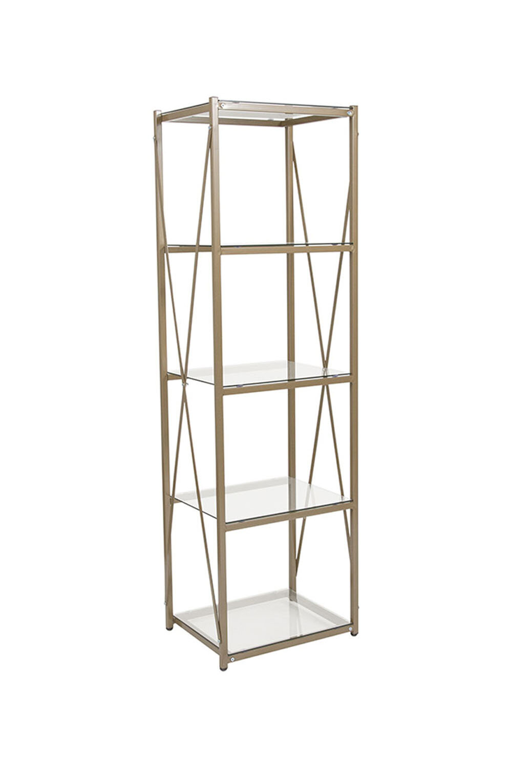 Everly Quinn Harmoni Etagere Bookcase Wayfair