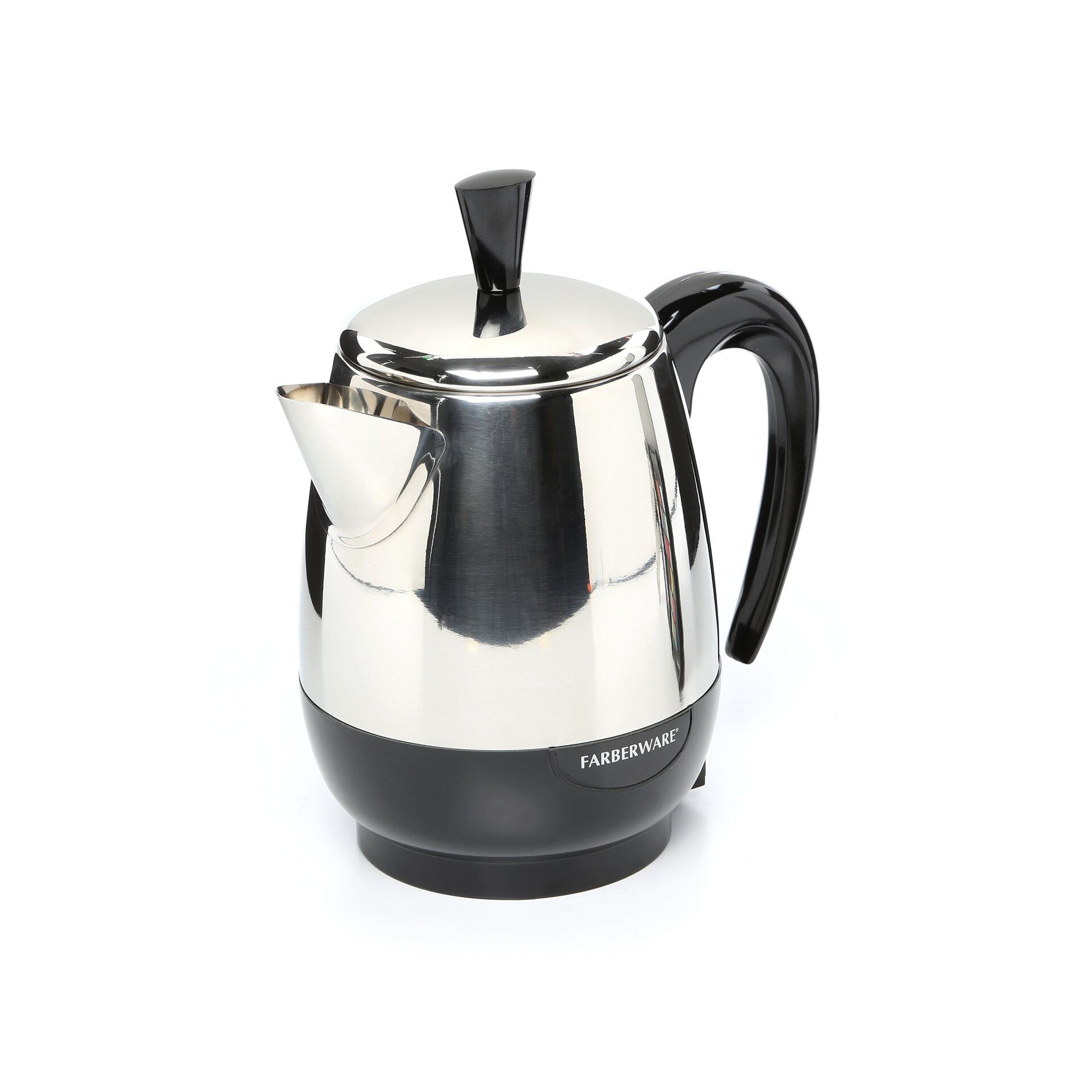 Kitchen+Ease+Percolator farberware kitchen ease percolator & reviews wayfair