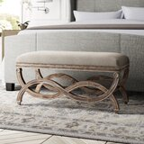 Grundy Upholstered Bedroom Bench by Greyleigh™