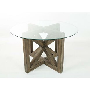 Gracie Oaks Abingdon Wooden Dining Table