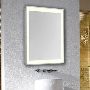 Online Reviews Edge Electric Bathroom/Vanity Mirror ByLatitude Run